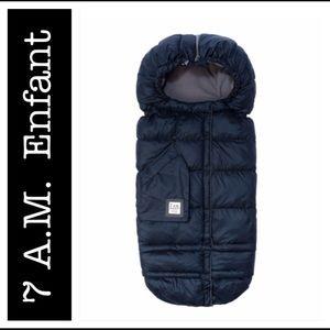 7AM Enfant-  BLANKET 212 evolution Midnight Blue